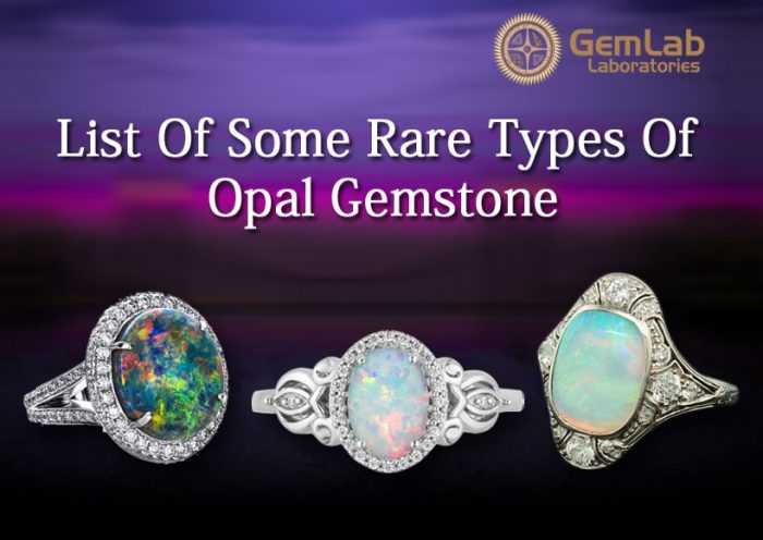 List Of Some Rare Types Of Opal Gemstone