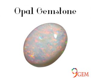 White Opal Gemstone