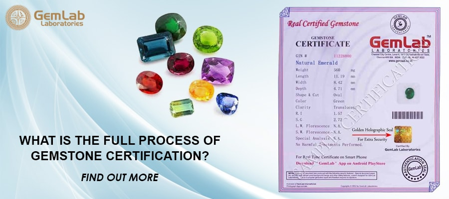 Full Process Of Gemstone Certification